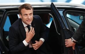 Emmanuel Macron à Bruxelles le 10 avril 2019