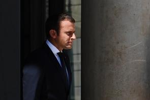 Emmanuel Macron à l'Elysée à Paris le 26 juin 2017
