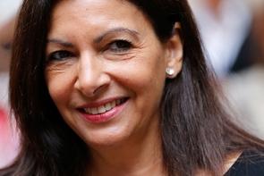 Anne Hidalgo, le 26 septembre 2017 à Paris
