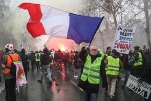"""Manifestation des """"gilets jaunes"""", le 19 janvier 2019 à Paris"""