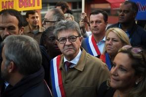 Jean-Luc Mélenchon le 19 septembre 2019 à Bobigny