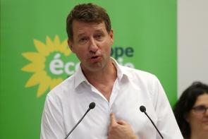 Le député européen EELV Yannick Jadot, le 22 juin 2019 à Paris