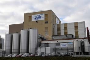 L'usine du groupe Lactalis où ont été découvertes les salmonelles à Craon le 4 décembre 2017