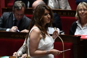 La secrétaire d'Etat à l'Egalité femmes-hommes Marlène Schiappa, à l'Assemblée Nationale le 20 juin 2018