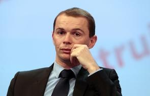 Olivier Dussopt, député-maire PS d'Annonay, ici le 20 mai 2013 à Paris