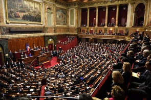François Hollande s'adresse aux parlementaires réunis en Congrès à Versailles, le 16 novembre 2016