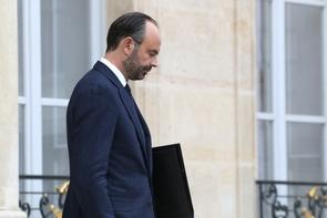 Le Premier ministre Edouard Philippe à la sortie de l'Elysée, le 5 décembre 2018 à Paris