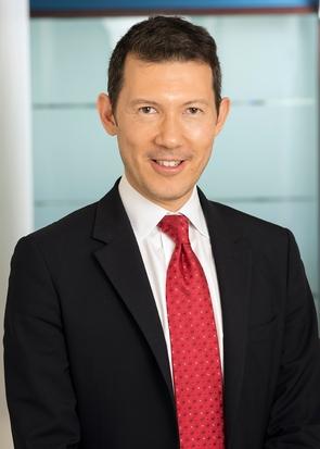 Le nouveau directeur général d'Air France-KLM Benjamin Smith, sur une photo du 7 décembre 2016