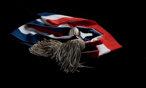 Echarpe tricolore politique - Political tricolor scarf