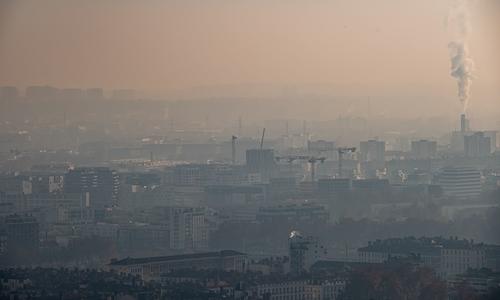 Pollution - fine particulate matter- Lyon