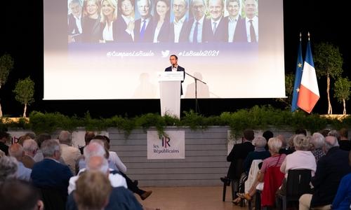 LA BAULE - LES REPUBLICAINS - UNIVERSITE D ETE - EDITION 2021 - RENTREE POLITIQUE