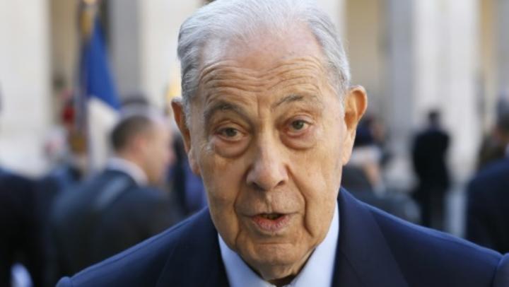 Charles Pasqua le 15 avril 2015 à Paris