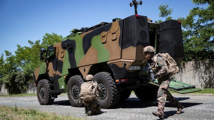 Le Griffon, véhicule blindé multi-rôles (VBMR)
