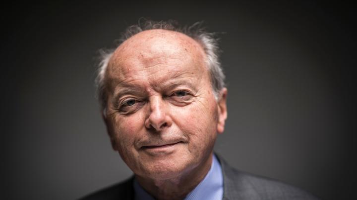 Jacques Toubon photographié à Paris le 8 juillet 2016