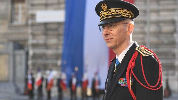 Le nouveau préfet de Paris Didier Lallement lors de la cérémonie pour son intronisation à Paris, le 21 mars 2019