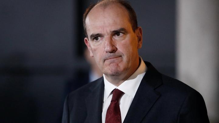 Le Premier ministre Jean Castex, dan,s un commissariat à la Courneuve, en banlieue de Paris, le 5 juillet 2020