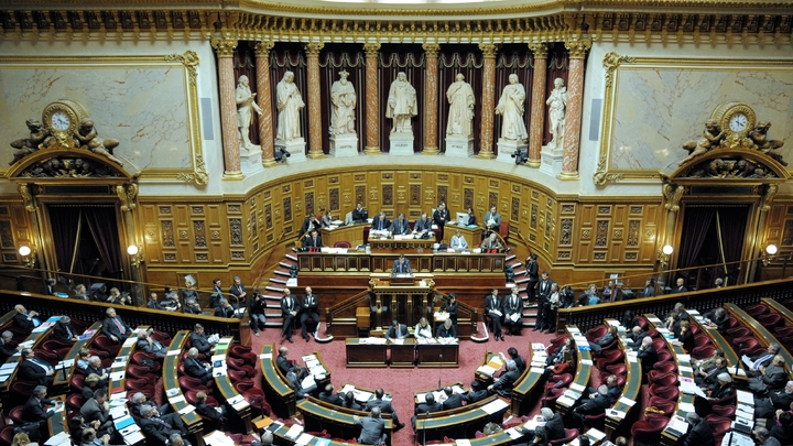 Vue générale du Sénat, le 8 décembre 2011