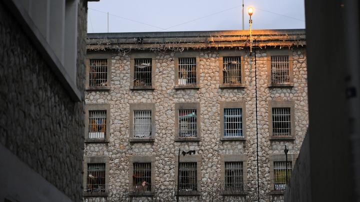La prison des Baumettes, le 8 janvier 2013 à Marseille