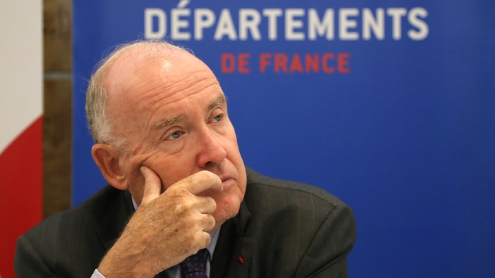 Le président de l'Assemblée des départements de France (ADF), Dominique Bussereau, le 3 juillet 2018