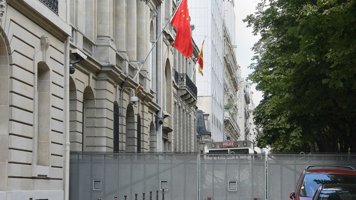PARIS : Ambassade de Chine