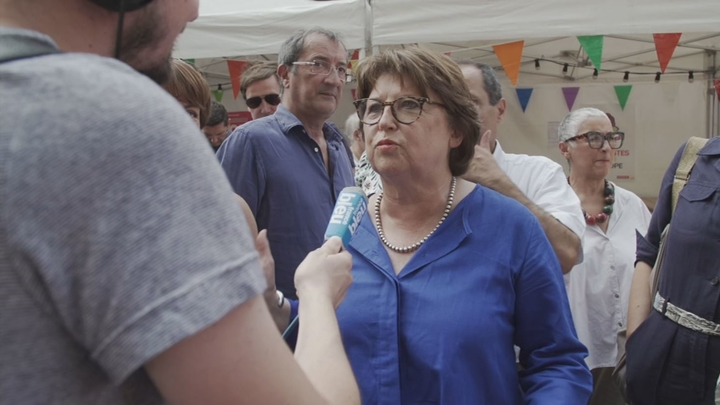"""Catpure d'écran du documentaire """"La dame de Lille"""" réalisé par Hélène Desplanques"""