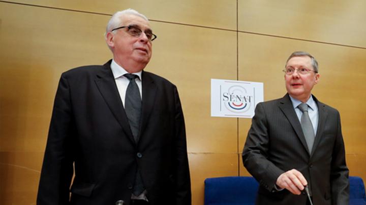 Les sénateurs Philippe Bas et Jean-Pierre Sueur