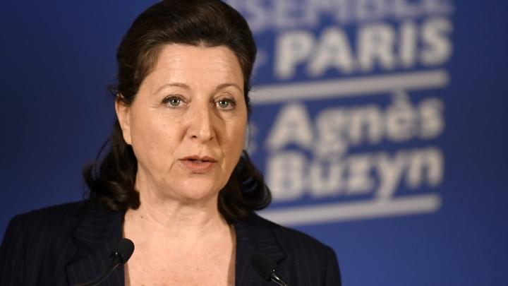 Agnès Buzyn, le 15 mars 2020, à Paris