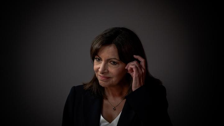 FRA : PRESIDENTIELLE 2022 : JT F2 Anne HIDALGO PORTRAITS