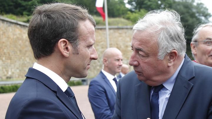 Larcher Macron