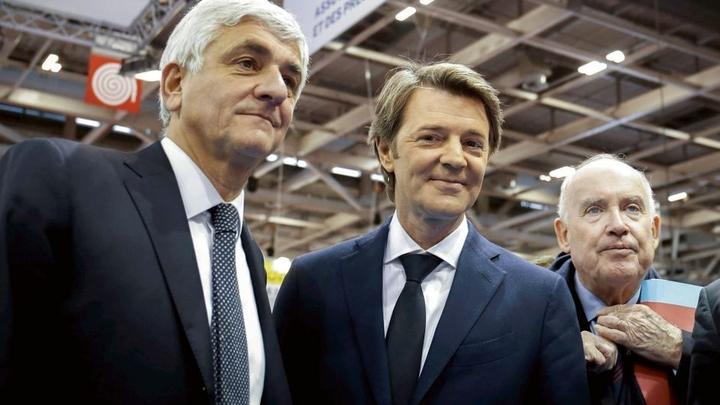 Herve Morin, Francois Baroin et Dominique Bussereau
