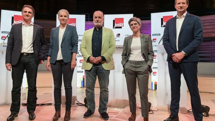 Paris: Debat candidats primaire ecologiste