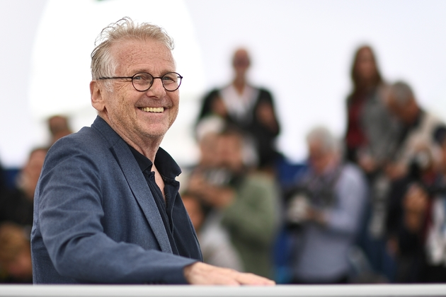 Daniel Cohn-Bendit en mai 2018 à Cannes lors de la présentation de La Traversée, documentaire coréalisé avec Romain Goupil