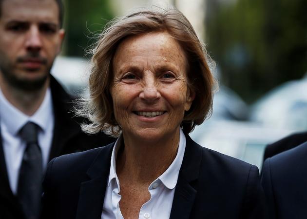 La vice-présidente du MoDem Marielle de Sarnez à Paris, le 13 mai 2017