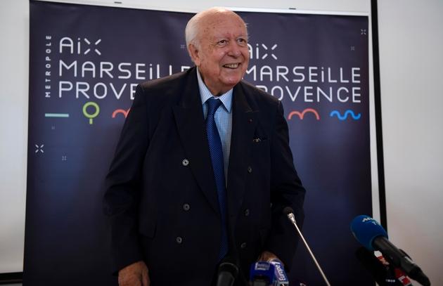 Jean-Claude Gaudin, 78 ans, le maire de Marseille, le 4 septembre 2018.