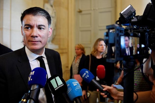 Olivier Faure à l'Assemblée nationale le 31 juillet 2018