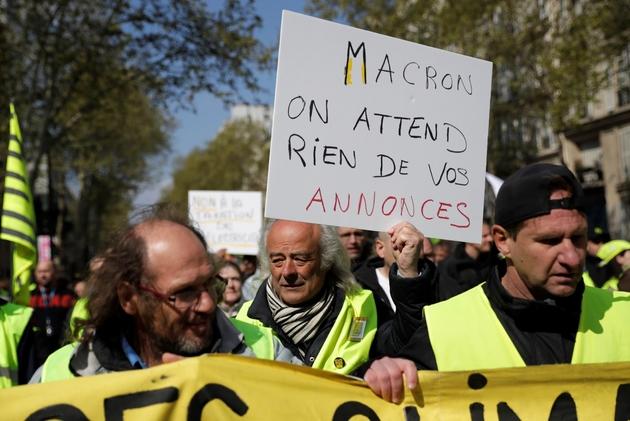 """Manifestation de """"gilets jaunes"""" le 13 avril 2019 à Paris"""