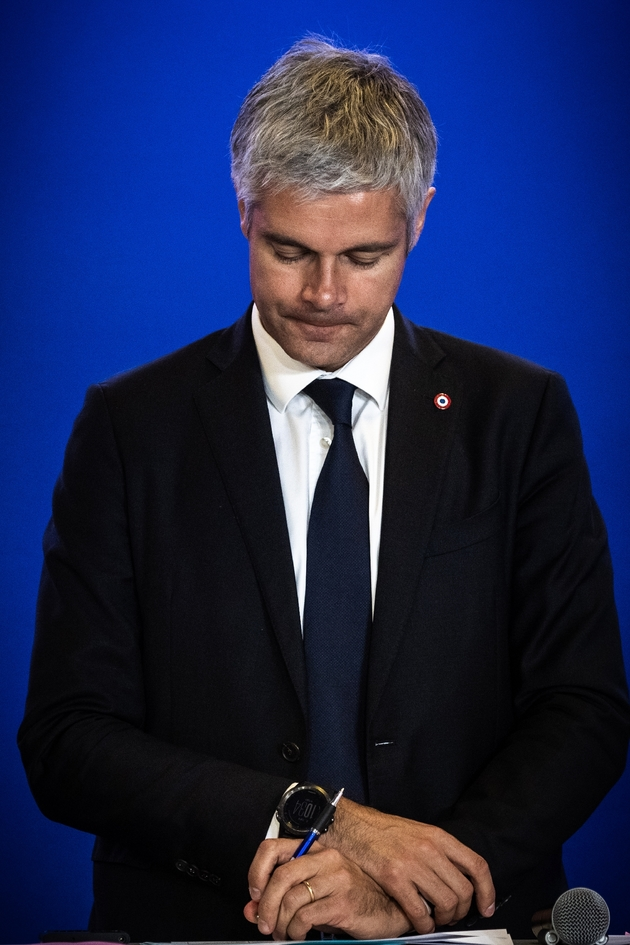 Laurent Wauquiez, le 9 octobre 2019 à Paris
