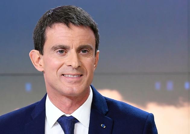 Manuel Valls lors du journal de France 2, le 6 décembre 2016 à Issy-les-Moulineaux