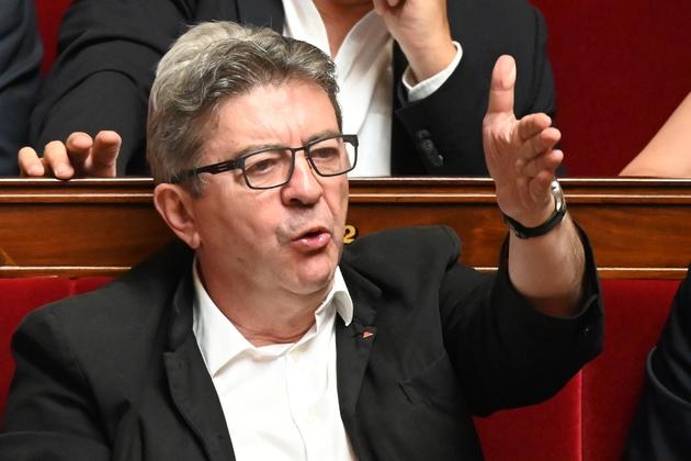 Le président de La France insoumise Jean-Luc Mélenchon à l'Assemblée nationale, le 25 juin 2019 à Paris