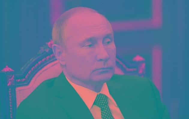 Le président russe Vladimir Poutine, le 1er avril 2019 à Moscou
