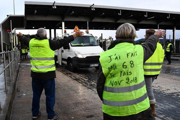 """""""Gilets jaunes"""", à La Ciotat le 30 novembre 2018"""