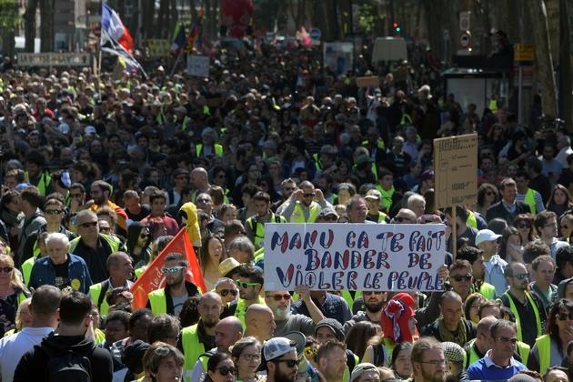 Défilé du 1er mai 2019 à Toulouse