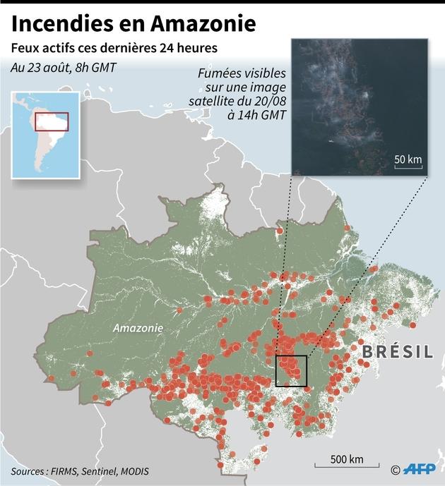 Incendies en Amazonie