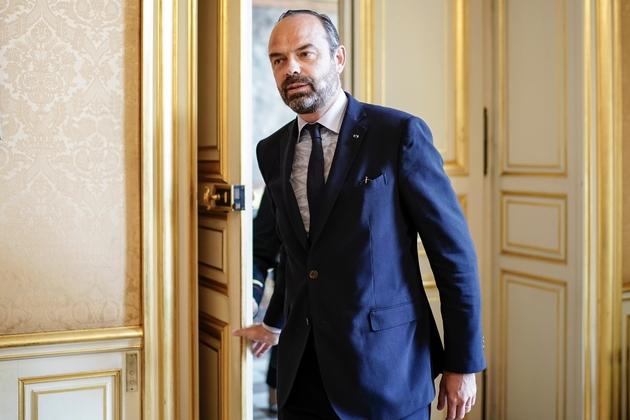 Le Premier ministre Edouard Philippe, le 18 juillet 2019 à l'Hôtel Matignon, à Paris