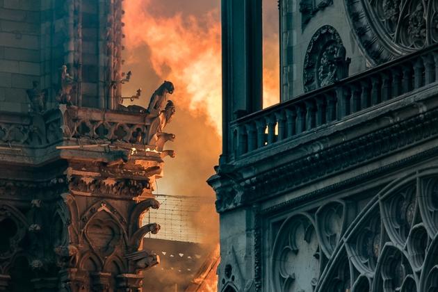 Notre-Dame, le 15 avril 2019