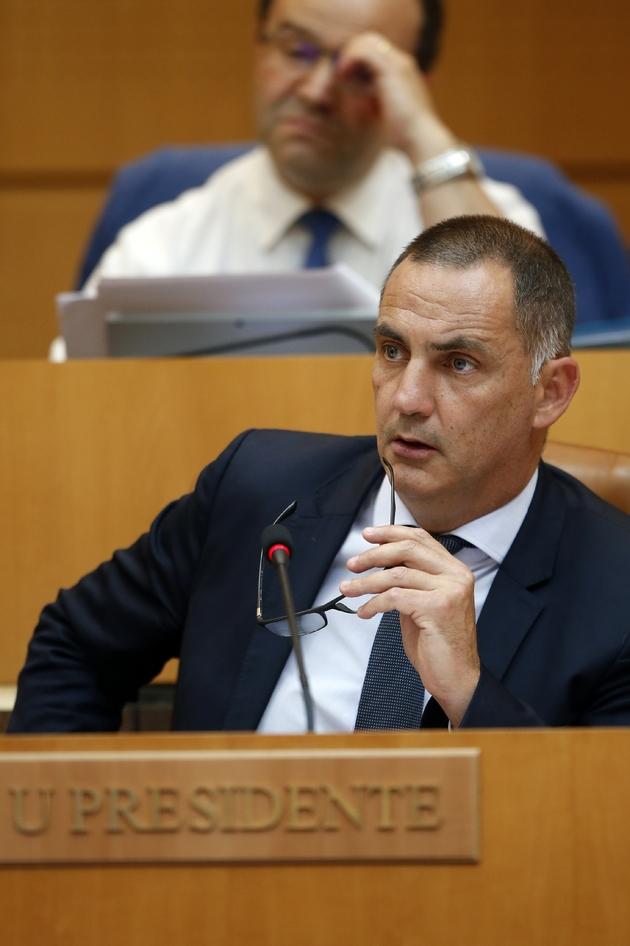 Gilles Simeoni, président de l'exécutif corse, le 28 juin 2018