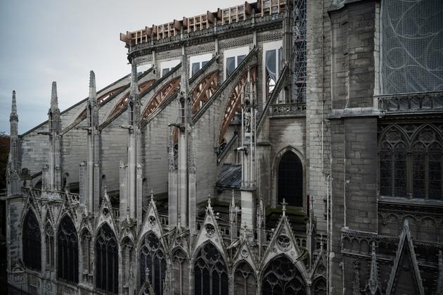 Notre-Dame de Paris, le 15 octobre 2019