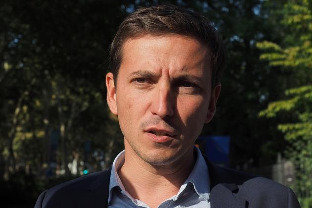 Le député LREM Aurélien Taché en septembre 2018 à Tours