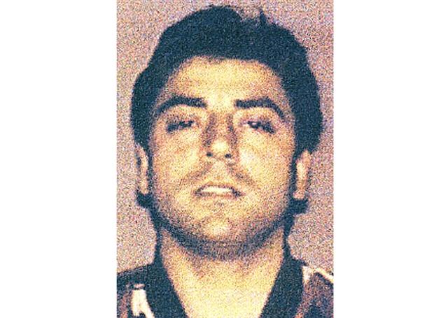 """Photo fournie le 7 février 2008 par la police italienne de Francesco """"Franky Boy"""" Cali, considéré comme le chef du clan mafieux Gambino"""
