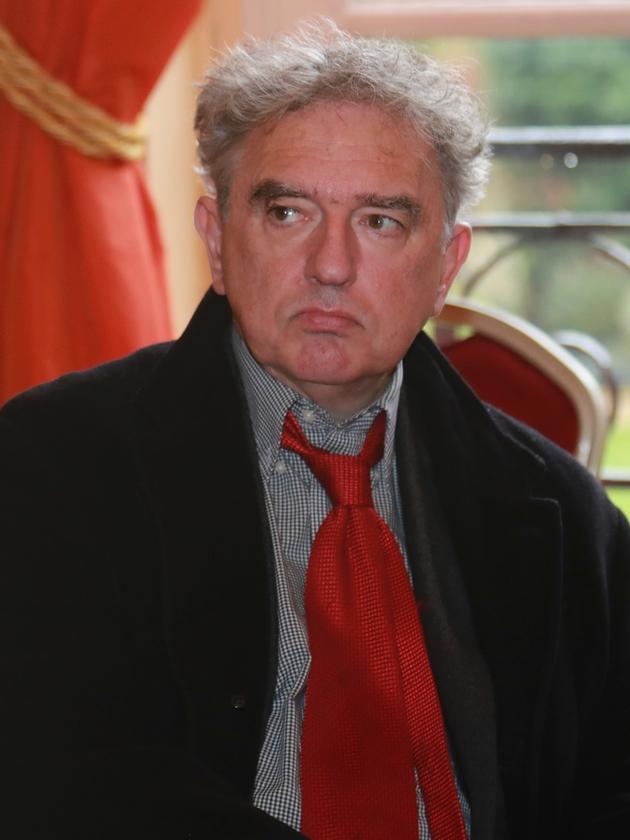 L'ex-directeur de la Revue des Deux Mondes, Michel Crépu, le 7 novembre 2016 à Paris